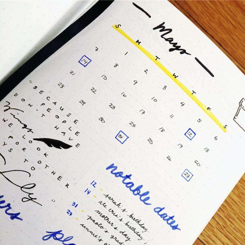 7 Tips to Kickstart Your Bullet Journal