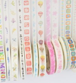 Twin pack washi tape sample demo swatches multicolor