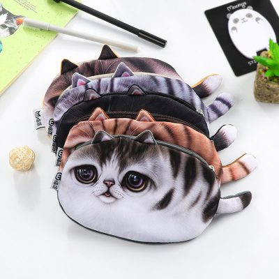 1613-8449aePlush cat pencil case 5 options stacked
