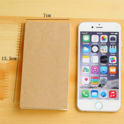 Kraft memo pad dimensions compared to iphone 6