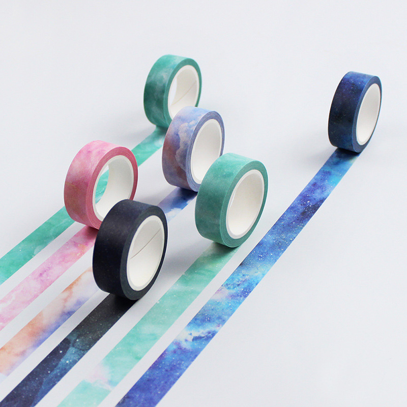 galaxy washi tape is an awesome piece of stationery if you're a student