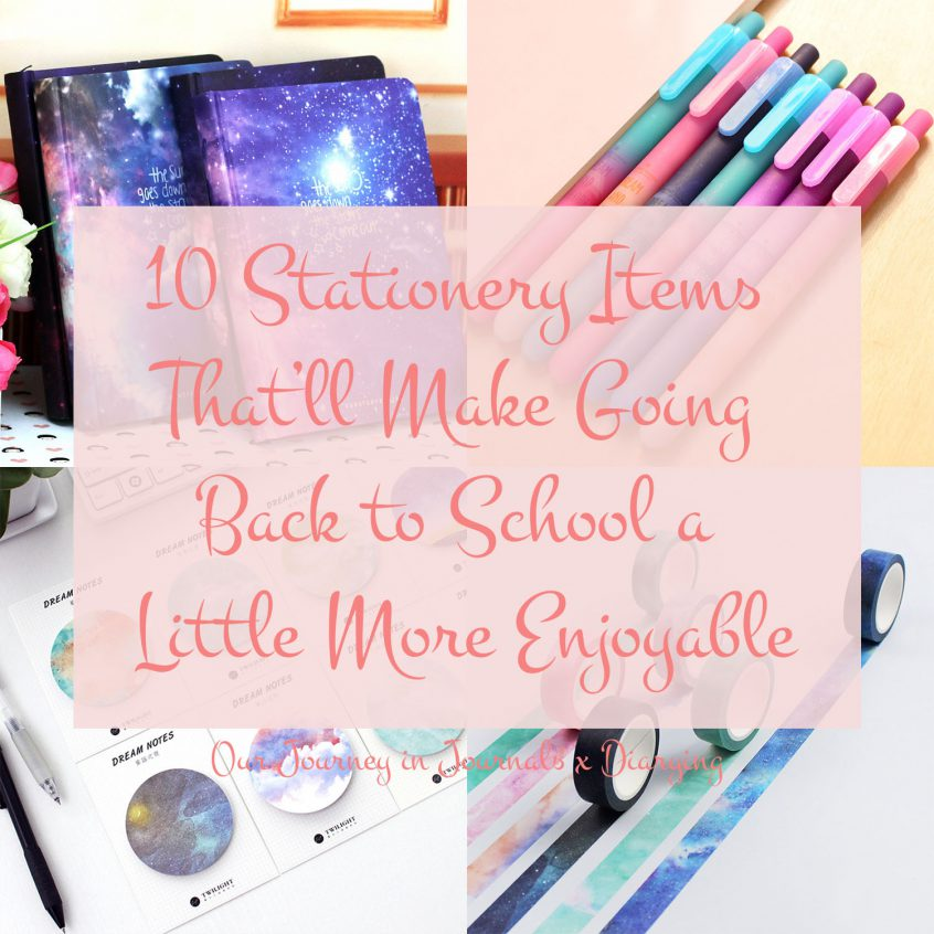 10 Stationery Items That'll Make Going Back To School More Enjoyable