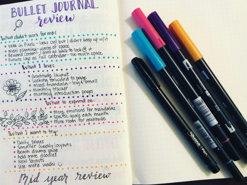 10 Reasons Why I Recommend Bullet Journaling