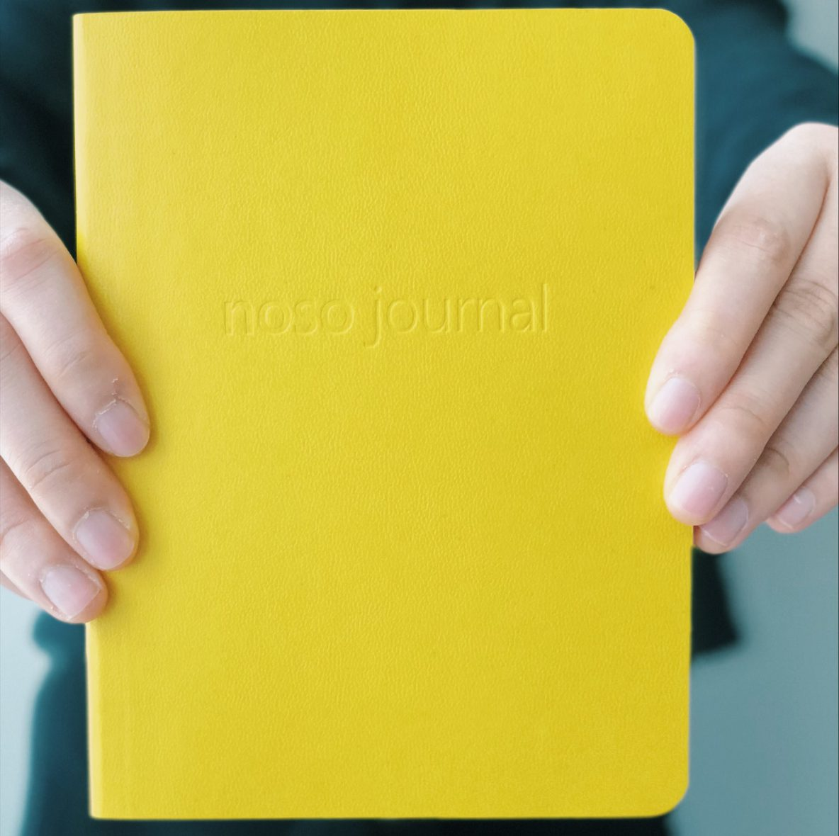 NOSO Journal Yellow Cover