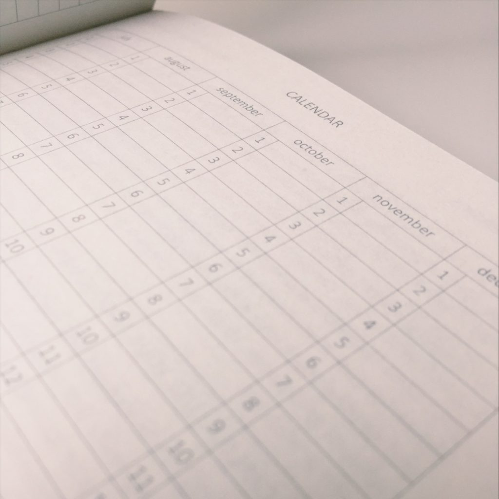 NOSO Journal Calendar