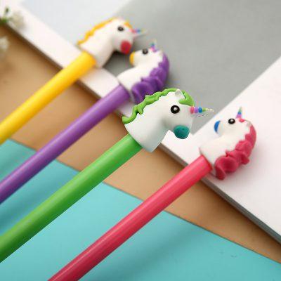 Unicorn Gel Pens Featuring Green Pen