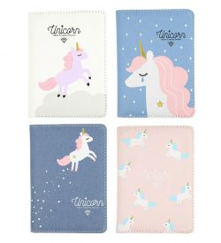 Magical Unicorn Journal Flatlay All Four Options