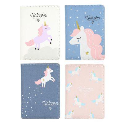 Magical Unicorn Journal Flatlay All Four Options