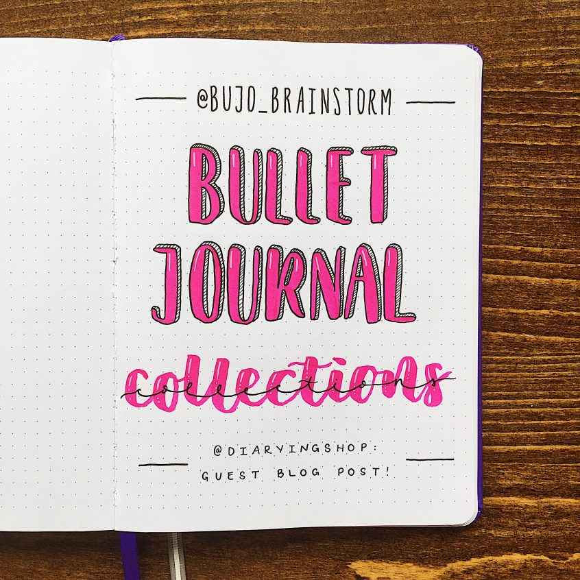 10 bullet journal collection spread ideas. Black Bedroom Furniture Sets. Home Design Ideas